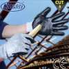 Nmsafety Nylon и Hppe Coated Nitrile Cut Glove