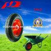 10 roda de borracha contínua da polegada 10X2.75 com borda plástica