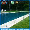 Lieferant-Raum-Temperament-Glaszaun-Panel, flach oder Schlaufe