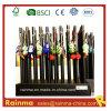 Cristal Negro Lápiz de madera para regalo promocional