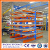 Warehouse Storage Adjustable Arms Lumber Heavy Duty Cantilever Rack