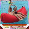 膨脹可能なLoungerの不精なたまり場のシートのタイプ豆袋の空気ソファーの膨脹可能な空気寝袋