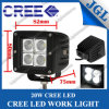 diodo emissor de luz Work Lamp do CREE 20W, diodo emissor de luz Driving Work Light de Waterproof