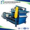Abwasser-Klärschlamm-entwässernmaschine, Riemen-Filterpresse, Klärschlamm-Dehydratisierung