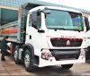 SINOTRUK 371HP de op zwaar werk berekende vrachtwagen van de 12 wielenstortplaats