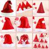 Sombrero de la Navidad de la promoción de la impresión de la producción de la fábrica