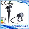 에너지 절약 IP65 3W LED 옥외 조경 LED 정원 빛