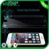 Le prix usine 9h futé confirment le protecteur de bonne qualité d'écran en verre Tempered de clef et de bord 2.5D mince superbe de retour futé de Keyultra pour iPhone6