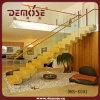 Красивейшая крытая стеклянная деревянная лестница (DMS-8002)