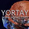 Polvo rojo marrón del tono de la tierra del maquillaje del metal de la chispa
