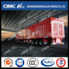 Cimc Huajun Standard 3axle 밴 또는 Box 석탄 Carrying Semi Trailer