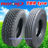 11r22.5, 315/80r22.5 Tubeless Radial Truck Tyre/Tyres, TBR Tire/Tires mit Rib Smooth Pattern für High Way (R22.5)