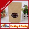 Алюминиевая фольга Side Gusset Kraft Bag качества еды с Window (220078)