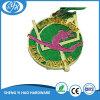 Médaille faite sur commande en métal de scintillement d'or