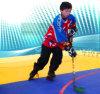 Blockierende modulare Inline-Hockey-Fliesen u. Eisbahnen-Hockey-Bodenbelag für Konkurrenz und Training (Hockey-Champion/Fachmann)