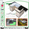 0.8mm Cold Roll Steel Supermarket Cash Checkout Counter
