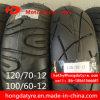 Pneu de vente des prix de qualité bon marché chaude de Kenda/pneu sans chambre 120/70-12 100/60-12