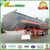 Tri-Axle 45000 алюминиевого литров трейлера топливозаправщика газолина