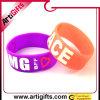 Wristband del silicone di Mescolare-Colore del regalo di promozione