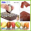 Moule de biscuit de silicone de moule de Macaron de catégorie comestible