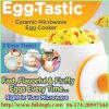 Uovo Tastic, fornello del silicone & di ceramica dell'uovo di microonda