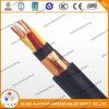 600V tipo tipo cables industriales del cable de control del Tc 5*14AWG Xhhw/PVC
