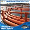 Equipamento de flutuação do HDPE que cultiva a flutuação da gaiola dos peixes