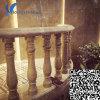 Pilar de pedra bege personalizado para decoração