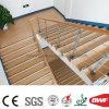 Le son de couleur de sable absorbent l'étage commercial mol de PVC pour l'industrie 2.4mm de transport