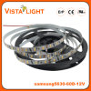 Luz de tira impermeável do diodo emissor de luz de SMD 5630 flexíveis para restaurantes