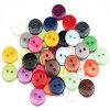 Кнопка цветастой смолаы рубашки пластичная с вспомогательным оборудованием одеяния Ce стандартным