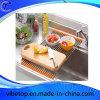 Küche-Edelstahl, der faltendes Regal (KT-05, leert)