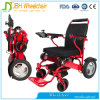 Cadeira de rodas elétrica de alumínio para deficientes motores