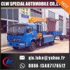 유압 트럭 기중기 가격을%s 가진 중국 사용된 픽업 작은 소형 트럭 이동 크레인, 판매를 위한 화물 자동차 소형 트럭에 의하여 거치되는 기중기
