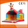 Bouncer Bouncy do palhaço do brinquedo para fora inflável do Moonwalk para os miúdos (T1-001)