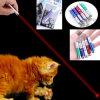 Bastone divertente del gatto del laser dell'azzurro rosso della torcia elettrica dell'indicatore del laser