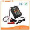 Modo inteligente 12V del arreglo de Suoer/cargador de batería automático de coche 2A/4A/6.9A de 24V