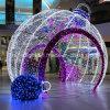 Grande sfera esterna di natale della decorazione LED di festa della decorazione di illuminazione