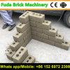 Machine de verrouillage complètement automatique de production de brique de presse hydraulique
