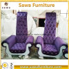 Kundenspezifische Hochzeits-Möbel-schöner König Chair Throne