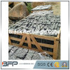 Cubes noirs en Cubestone de granit gris foncé normal pour le pavage de jardin/allée