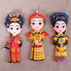 De aangepaste Chinese Magneet Artware van de Koelkast van de Reeks van het Symbool