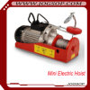 200-400kg 12m, 220V, 50Hz, 1-Phase PA Mini Electric Wire Rope Hoist, Crane Equipment, Lifting Tool