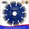 125mm láser soldado Turbo Saw Blade para granito