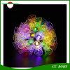 Lumière solaire 20LED/30LED/50LED d'arbre de Noël de tintement de festival de DEL de jardin extérieur léger décoratif de Bells