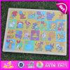 Giocattolo di legno di puzzle del puzzle di vendita calda 2015, giocattolo di legno brandnew di puzzle del puzzle, giocattolo di legno prescolare W14c241 di puzzle del puzzle