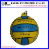 주문을 받아서 만들어지는 로고 광고 PU 긴장 공 Keychain (EP-K57303)