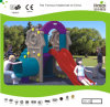 Tunnel y Slide Set de Kaiqi Small Colourful Plastic Children para Playground (KQ50131C)