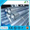 Venta caliente tubos de acero roscados galvanizados hierro de acero de 4 pulgadas con el casquillo