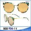 Gafas de sol retras de las gafas de sol UV400 del OEM de las gafas de sol redondas del metal